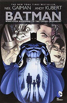 Batman: Whatever Happened to the Caped Crusader? by Neil Gaiman, (Paperback), DC