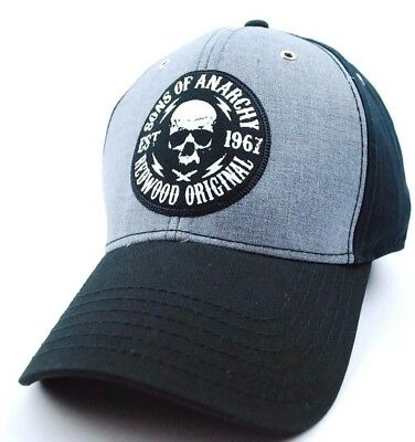 Concept One Sons Of Anarchy Redwood Original Stretch Fit Hat/cap - Osfm