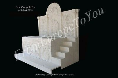 Best Hand Carved Marble Church Baptismal Bpt1