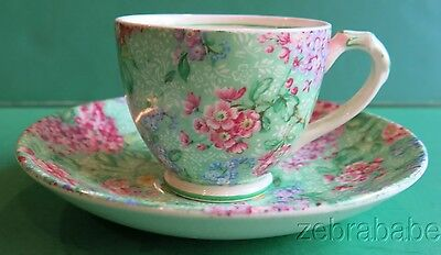 Empire Chintz Lilac Time Demi Tea Cup England