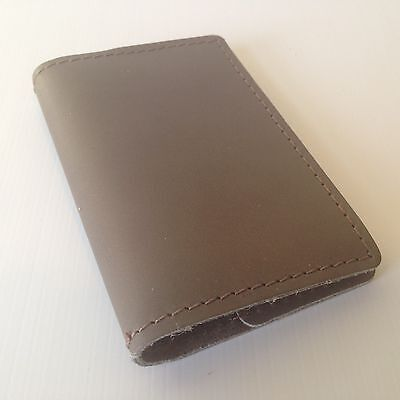 RUSTICO Refillable Pocket Notebooks Leather Journals Diary Gifts Gray Stone