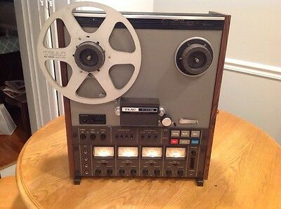 Vintage TEAC A-3440 4-Channel Reel to Reel Player Professionally Serviced MINT