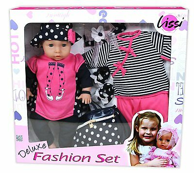 lissi doll with sounds in baby annabell