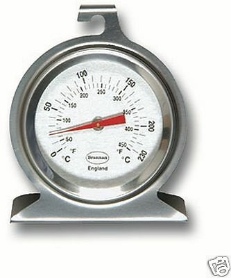 Brannan Dial Oven Stainless Steel Thermometer 23/400