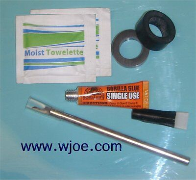RT-707 RT-701 Pinch Roller Kit with Instructions and tools-TWO ROLLERS