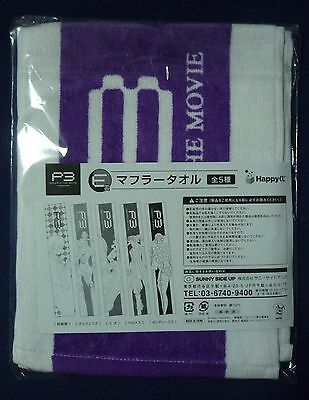 PERSONA 3 THE MOVIE P3 Muffler Towel Hermes Official NEW!