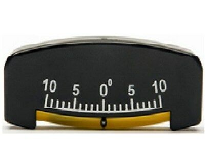 "10 Degree Miniature Inlinometer - 3 1/2""x1 1/2"" 76S, Tilt Meter, Slope Meter"
