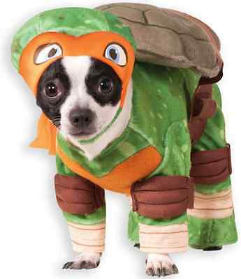 Michelangelo TMNT Teenage Mutant Ninja Turtles Halloween Pet Dog Cat Costume
