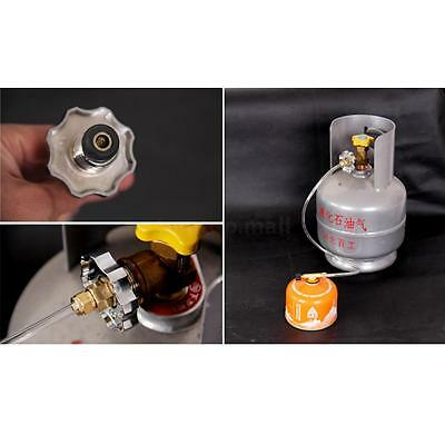 Outdoor Picnic Propane Refill Adapter Gas Flat Cylinder Tank Inflatable Valve