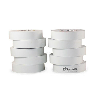 """10 Rolls White Electrical Tape 3/4"""" X 66 Ft"""