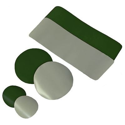 Gumotex Repair Patches, Adhesive, Valve Adapter for Inflatable Kayak GREEN GREY