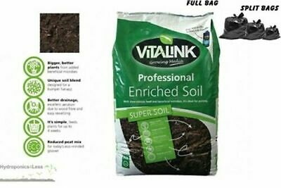 VitaLink Professional Enriched Soil Hydroponics Growing Mix Media 10, 25 & 50L