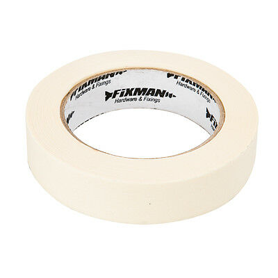 """25mm Masking Tape, 1"""" Decorators Roll, Painting, Painter, Decorating, Off, 50m"""