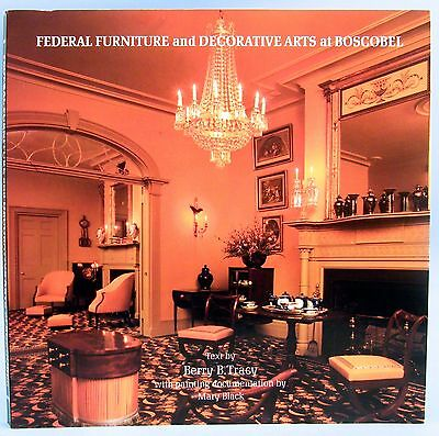 FEDERAL FURNITURE AND DECORATIVE ARTS AT BOSCOBEL (Softcover) 215 Illustrations