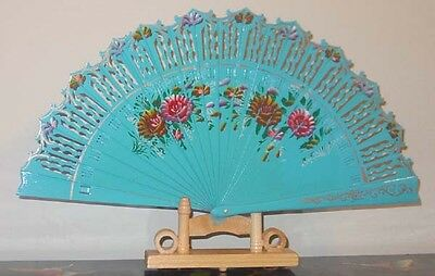 Bamboo Painted Folding Hand Fans Chinese / Japanese New #20