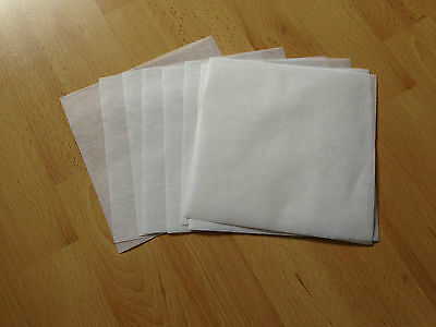 Madeira White 40g Tear Away Embroidery Stabiliser/Backing 18cm x 18cm -10 sheets