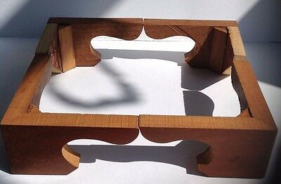 Mahogany Bracket Feet for Antique Longcase Clock *Handcrafted* bestseller!