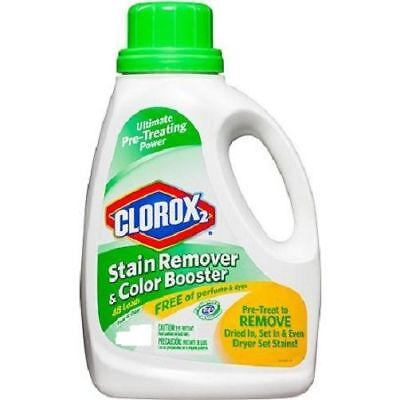Clorox 2 Stain Remover and Color Booster Free & Clear