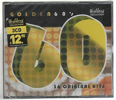 Flashback Collection Gold 60'S - 3 Cd F.c. Sigillato!!!