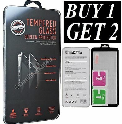 100% GENUINE TEMPERED GLASS SCREEN PROTECTOR PROTECTION FOR APPLE iPhone SE 5S 5