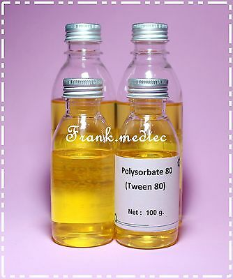 POLYSORBATE 80 / TWEEN 80  NATURAL SURFACTANT  EMULSIFIER  100 g