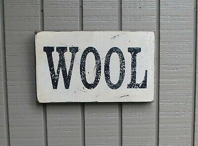 """Primitive Look Sign – """"Wool"""" - Several Colors Available"""