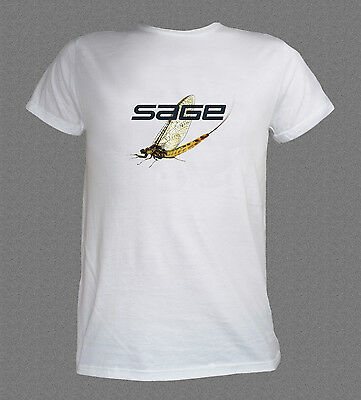 SAGE Mayfly fly fishing T-shirt (various sizes available)