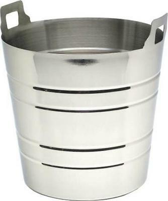 Stainless Steel Ice Bucket/Polycarbonate Ice/Wine Bucket - CLEARANCE
