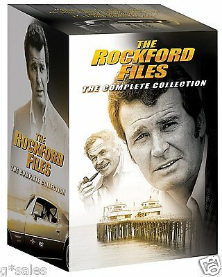 The Rockford Files Complete Series Season 1-6 + 8 Movies  ~ NEW 34-DISC DVD SET