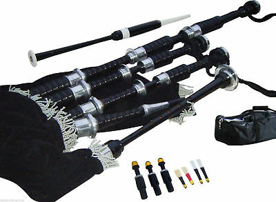 Great Highland Bagpipes & Free Practice Chanter (Complete Starter Set)