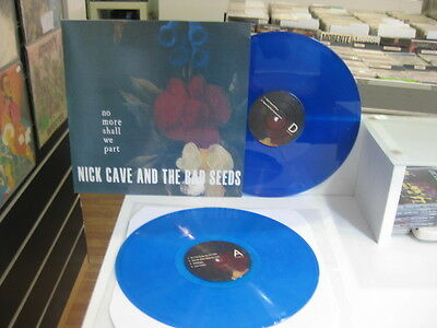 Nick Cave & The Bad Seeds 2 Lp No More Shall We Part Blue Vinyl