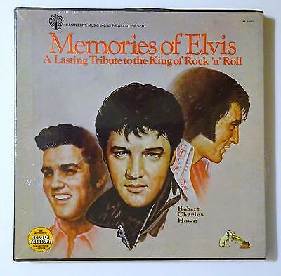 Elvis Record Box Large80 12 Inch Albums Classic Jailhouse Rock N Roll Crate