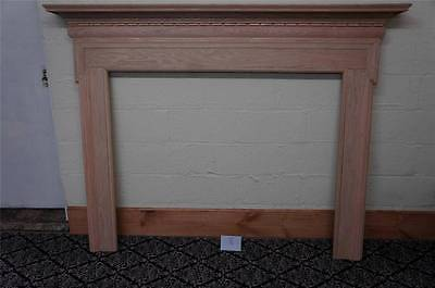 Wooden European Style Carved New Fireplace Mantel - Mantel 8