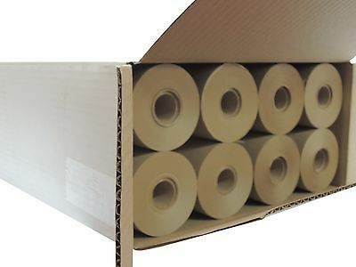 "12 inch x 180 feet, 1"" core 30# brown masking paper, 1 box of 16 rolls"