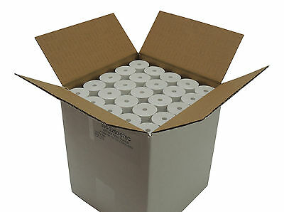 "BPA Free thermal paper 2 1/4 x 75 feet 1 1/2"" / 38mm OD CORELESS 100 rolls"