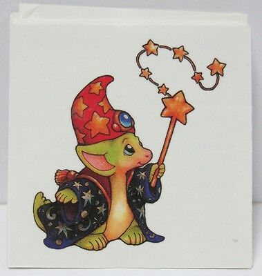 Pocket Dragon - Full Color Temporary Tattoo -  EXTREMELY RARE - BRAND NEW