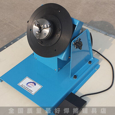 10KG 2-18RPM Light Duty Automatic Welding Positioner with K11 80mm 3-jaw Chuck
