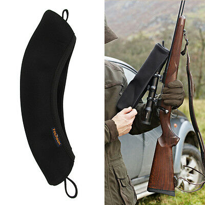 Tourbon Gun Scope Cover Neoprene Telescope Optical Protect Rifle Tactical Large