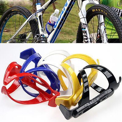 Bicycle MTB Cycling Mountain Sport Water Bottle Drinks Plastic Holder Durable
