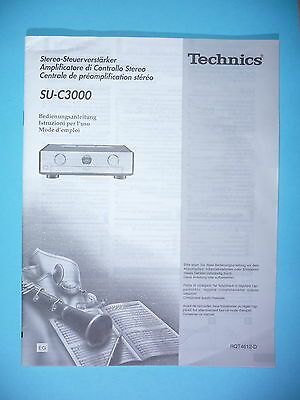 technics su v98 owners manual