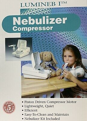 Luminscope Lumineb I Compressor / Nebulizer 5500P_Factory Sealed