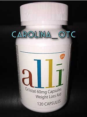 NEW Alli 120 Count Bottle Expires AUGUST 2018 New Release Weight Loss Diet