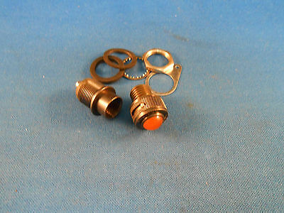 2-3730-0113-207 Dialight Amber Light Ind. Blackout & Partial Dimming Nos