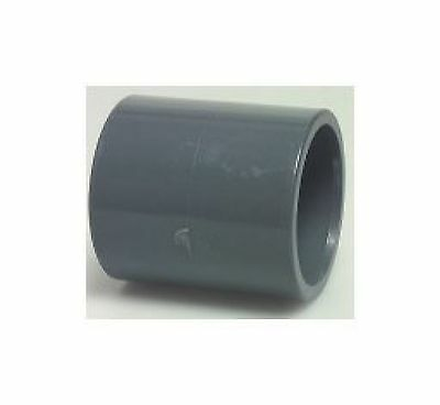 Swimming pool / pond rigid pipe plumbing fittings 63mm solvent