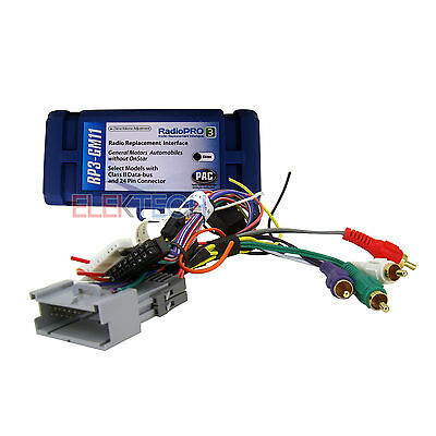 PAC RP3-GM11 Radio Replacement Interface w/SWC for GMC/Buick/Chevy w/o Onstar