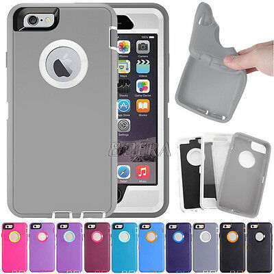 Military Armor Hybrid Rugged High Impact Combo Case Cover For iPhone 5 6 7 Plus