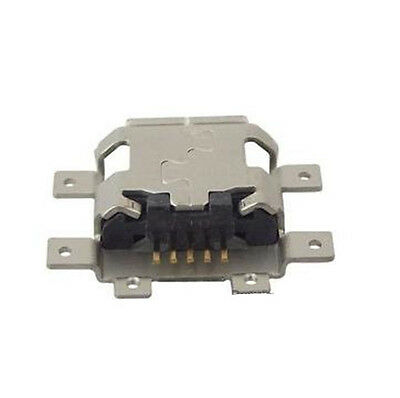 4X Molex 47491-0001 Micro Usb Type Ab Connector, Receptacle, 5 Position, Smd