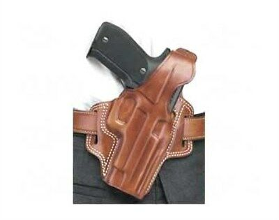 "NEW! Galco Fletch High Ride Holster 1911 5"" Colt & Clones Right Hand, Tan FL212"