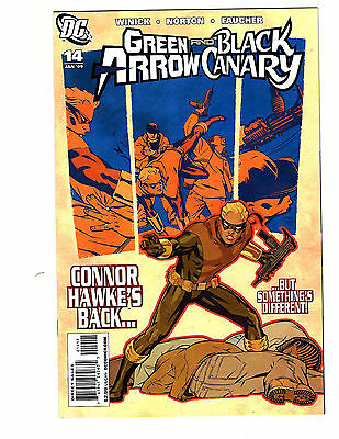 Green Arrow/Black Canary #14 (2009, DC) NM CW Show Oliver Queen