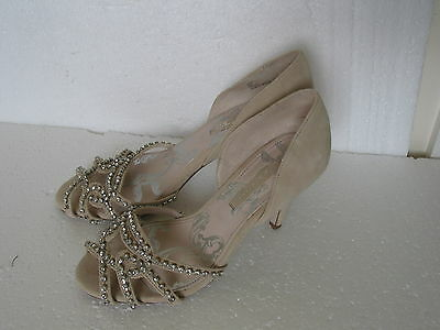 NEW NEXT Wedding Party Sandals with Diamond Details SIZE 6.5 & 5 RRP£45 BARGAIN